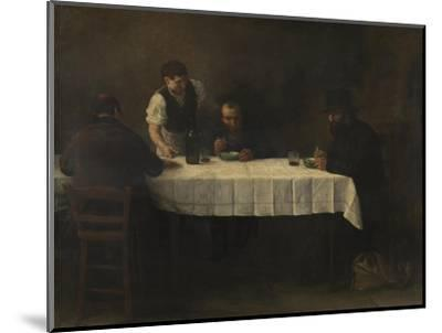 Le Repas des Pauvres-Alphonse Legros-Mounted Giclee Print