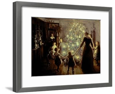Silent Night, 1891-Viggo Johansen-Framed Giclee Print