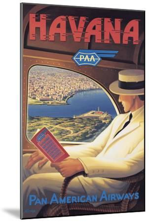 Havana-Kerne Erickson-Mounted Premium Giclee Print