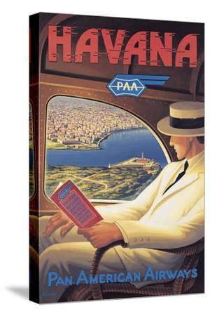 Havana-Kerne Erickson-Stretched Canvas Print