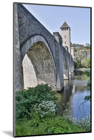 France, Cahors. Pont Valentre over the Lot river-Hollice Looney-Mounted Photographic Print