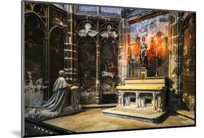 France, Toulouse. Cathedral of St. Etienne interior.-Hollice Looney-Mounted Photographic Print