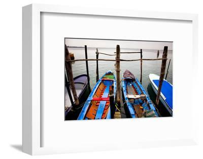Italy, Burano. Moored boats.-Jaynes Gallery-Framed Photographic Print