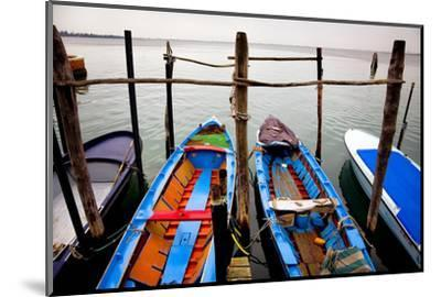 Italy, Burano. Moored boats.-Jaynes Gallery-Mounted Photographic Print
