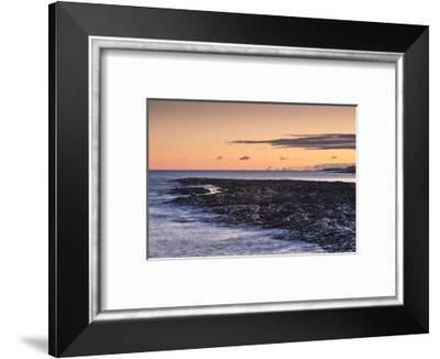 Canada, Quebec, Rimouski. Pointe au Pere, St. Lawrence River-Walter Bibikow-Framed Photographic Print