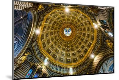 Siena Cathedral interior. Siena, Italy. Completed from 1215 to 1263.-William Perry-Mounted Photographic Print