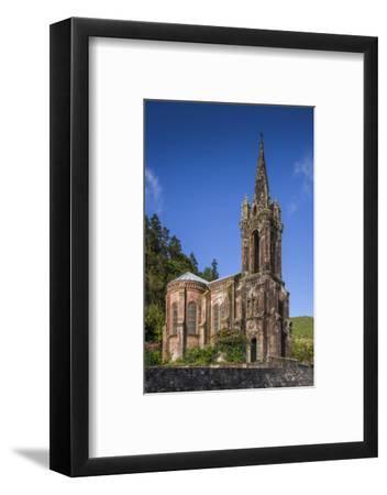 Portugal, Azores, Sao Miguel Island, Furnas. Lago das Furnas Lake-Walter Bibikow-Framed Photographic Print