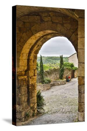 France, Cordes-sur-Ciel. A view of the countryside.-Hollice Looney-Stretched Canvas Print