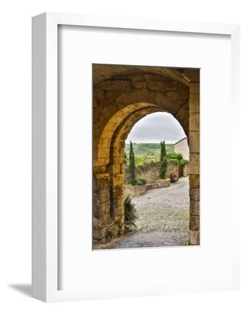 France, Cordes-sur-Ciel. A view of the countryside.-Hollice Looney-Framed Photographic Print