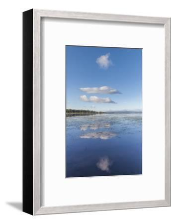 USA, Vermont, South Hero. View of Lake Champlain-Walter Bibikow-Framed Photographic Print