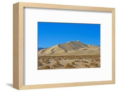 California. Death Valley National Park, South Eureka Dunes Road Scenery, Last Chance Mountain Range-Bernard Friel-Framed Photographic Print