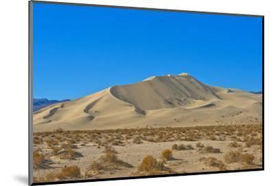 California. Death Valley National Park, South Eureka Dunes Road Scenery, Last Chance Mountain Range-Bernard Friel-Mounted Photographic Print