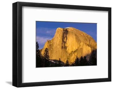 Evening light on Half Dome, Yosemite National Park, California, USA.-Russ Bishop-Framed Photographic Print