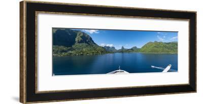 Opuhunu Bay. Moorea, French Polynesia.-Douglas Peebles-Framed Photographic Print