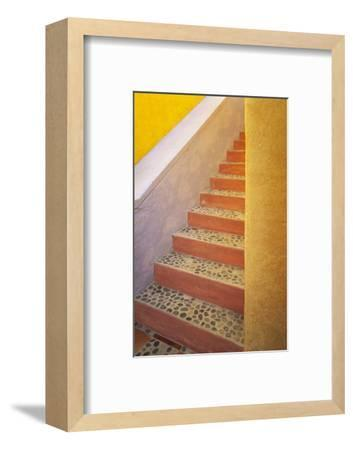 Mexico, Costalegre. Colorful stone stairs.-Jaynes Gallery-Framed Photographic Print