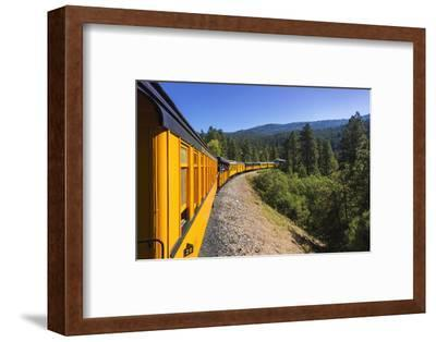 Durango & Silverton Narrow Gauge Railroad, San Juan National Forest, Colorado, USA.-Russ Bishop-Framed Photographic Print