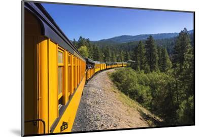 Durango & Silverton Narrow Gauge Railroad, San Juan National Forest, Colorado, USA.-Russ Bishop-Mounted Photographic Print