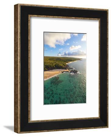 Laau point, Molokai, Hawaii-Douglas Peebles-Framed Photographic Print