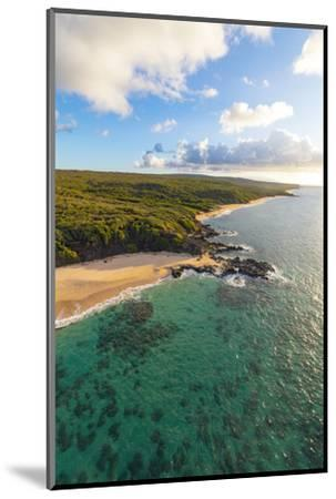 Laau point, Molokai, Hawaii-Douglas Peebles-Mounted Photographic Print