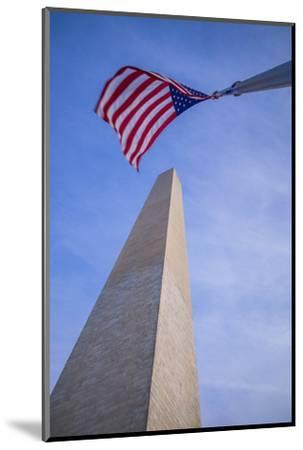 USA, Washington D.C. National Mall, Washington Monument-Walter Bibikow-Mounted Photographic Print