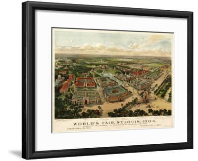 Missouri - Louisiana Purchase Expo. No. 2-Lantern Press-Framed Art Print