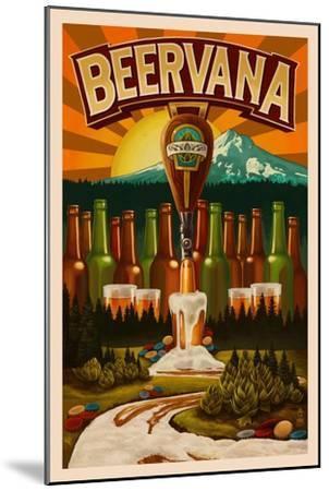 Beervana-Lantern Press-Mounted Art Print