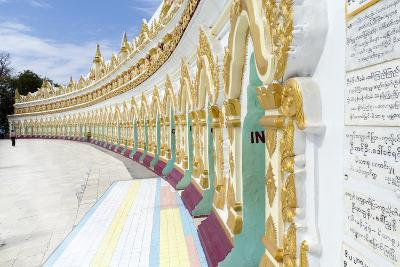 U Min Thonze Cave Temple on Sagaing Hill, Sagaing, Myanmar (Burma), Southeast Asia-Alex Robinson-Photographic Print
