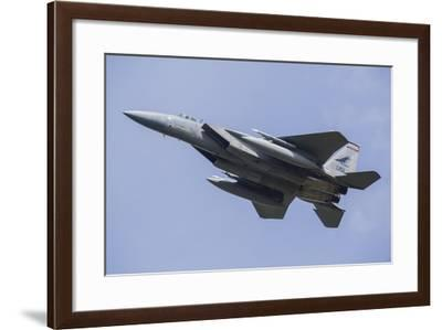 U.S. Air Force F-15C During Nato Exercise Frisian Flag 2015-Stocktrek Images-Framed Photographic Print