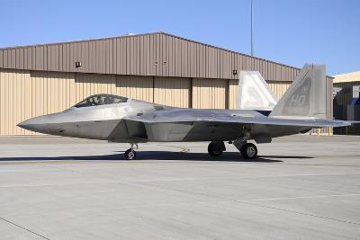 U.S. Air Force F-22A Raptor Taxiing at Holloman Air Force Base-Stocktrek Images-Photographic Print