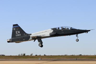 U.S. Air Force T-38 Talon Landing at Sheppard Air Force Base, Texas-Stocktrek Images-Photographic Print