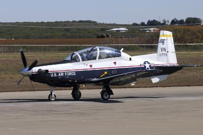 U.S. Air Force T-6A Texan Ii at Sheppard Air Force Base, Texas-Stocktrek Images-Photographic Print
