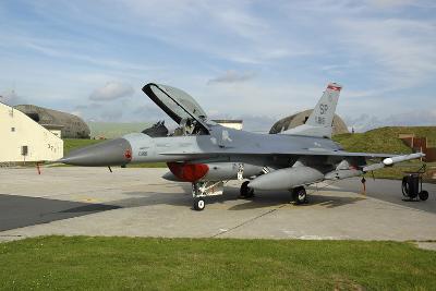 U.S. Air Forces Europe F-16Cj Block 50 at Spangdahlem Air Base, Germany-Stocktrek Images-Photographic Print