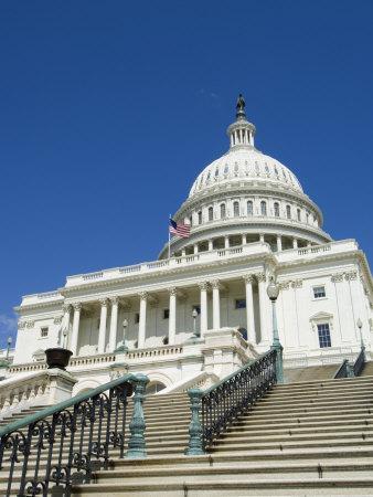 U.S. Capitol Building, Washington D.C., USA-Robert Harding-Photographic Print