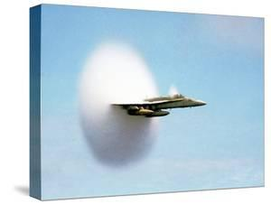 Aircraft Sonic Boom Cloud by u.s. Department of Energy