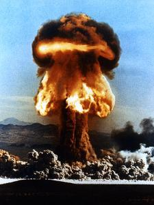 Atomic Bomb Explosion by u.s. Department of Energy