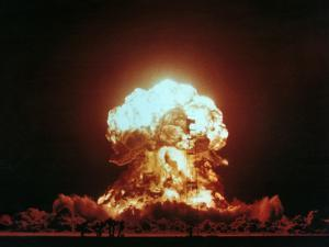 View of the Badger Nuclear Explosion by u.s. Department of Energy