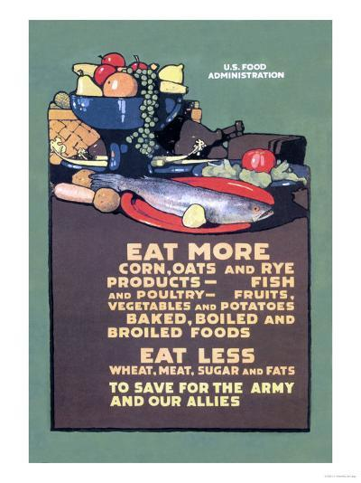 U.S. Food Administration Advisory-L^n^ Britton-Art Print