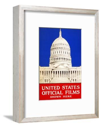 United States Official Films Shown Here