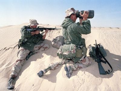 U.S. Marines Saudi Arabia-Dejong-Photographic Print