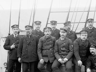 U.S.S. Boston Petty Officers--Photo