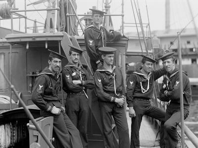 U.S.S. Huntress, Crew--Photo