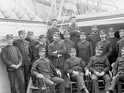 U.S.S. Kearsarge Officers--Photo