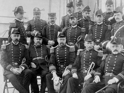 U.S.S. Lancaster, Officers--Photo