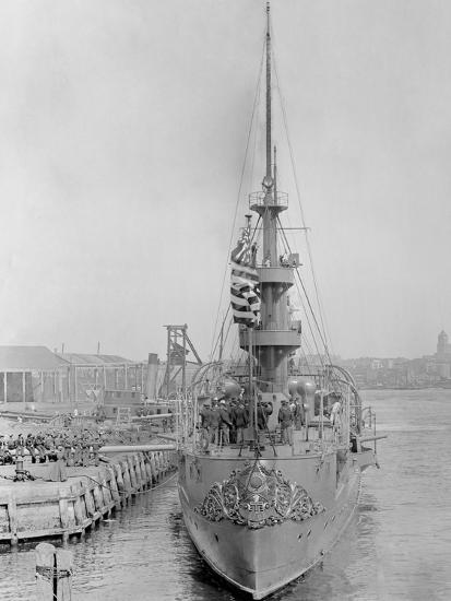 U.S.S. New Orleans at Brooklyn Navy Yard--Photo