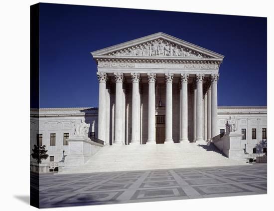 U.S. Supreme Court building, Washington, D.C.-Carol Highsmith-Stretched Canvas Print