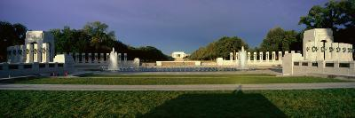 U.S. World War Ii Memorial Commemorating World War Ii in Washington D.C. at Sunrise--Photographic Print