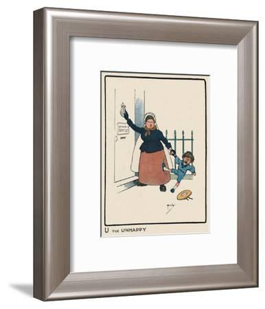 'U the Unhappy', 1903-John Hassall-Framed Giclee Print