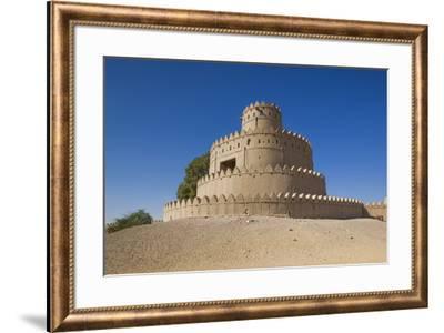 UAE, Al Ain. Al Jahili Fort.-Walter Bibikow-Framed Premium Photographic Print
