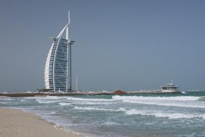 Uae, Dubai. Jumeirah District, Burj Al Arab Hotel-Cindy Miller Hopkins-Photographic Print