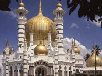 Ubadiah Mosque, Kuala Kangsar, Perak, Malaysia, Southeast Asia-Richardson Rolf-Photographic Print